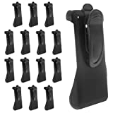 15 Pack of Plastic Holsters with Swivel Belt Clip for Cisco 8821 Phones