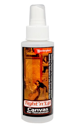 Masterpiece Artist Canvas Tight-n-Up Canvas Retensioner Spray, 8-Ounce