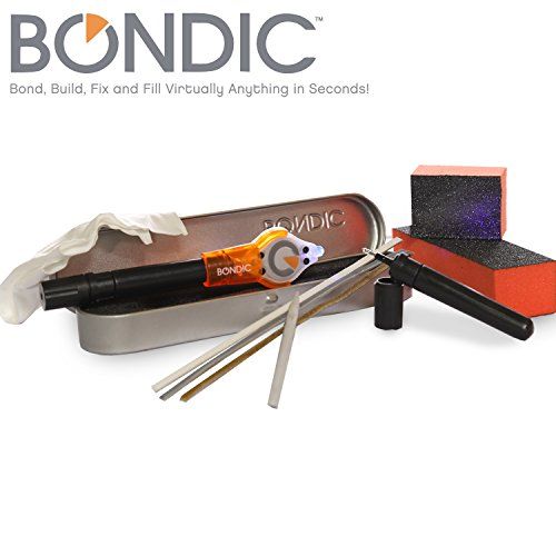 Bondic 12 Piece DIY Liquid Plastic Welder Kit