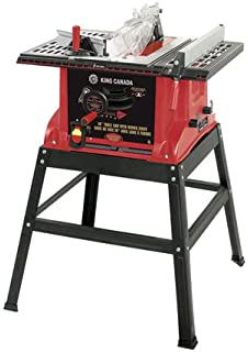 Mastercraft portable table saw 15a amazon tools home improvement king canada kc 5005r 10 table saw with riving knife greentooth Image collections