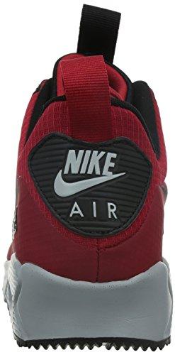 Nike Air Max 90 Midten Wntr Herre Sneakers 806.808 Til 002 Rød / Sort / Grå d0M8O8XasK