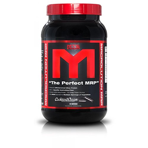MTS Nutrition Macrolution MRP Cookies & Cream 2.8 lbs (1290g)