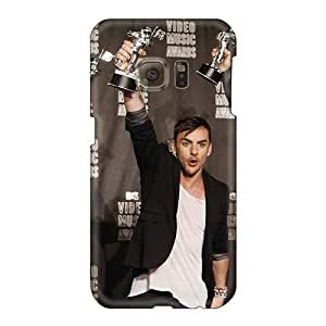 Shock Absorption Hard Phone Cover For Samsung Galaxy S6 (odw5823siLg) Support Personal Customs HD 30 Seconds To Mars Band 3STM Series