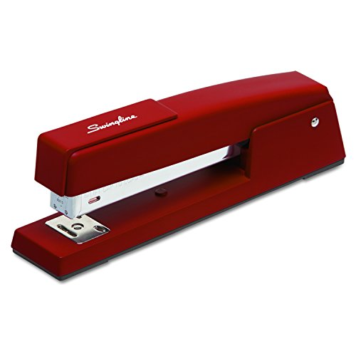 Swingline 747 Classic Desk Stapler in Lipstick Red(S7074718E)