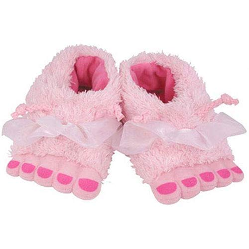 Rich Frog Funky Feet Slippers for Children Toddler Size