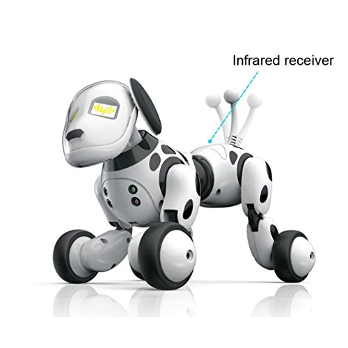 Charming Robotic Canine Sensible Canine Digital Pets, RC Humorous Interactive Pet Sing Dance Strolling Distant Management Digital Pet Rechargeable Mode  Opinions