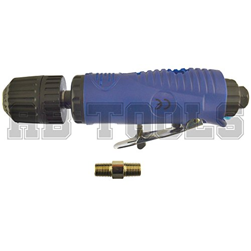 Air drill 3/8'' drive / chuck / keyless / straight / non reversible BERGEN AT135 by A B Tools (Image #3)