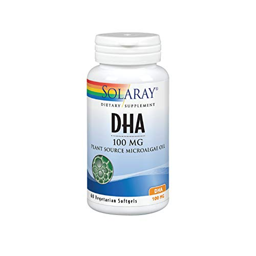 Solaray DHA Neuromins Capsules, 100 mg, 60 Count