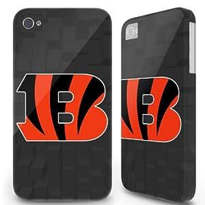 5.5 inch Iphone 6 Plus 6plus Hard Case Cover - Cincinnati Bengals Blocks Black -04