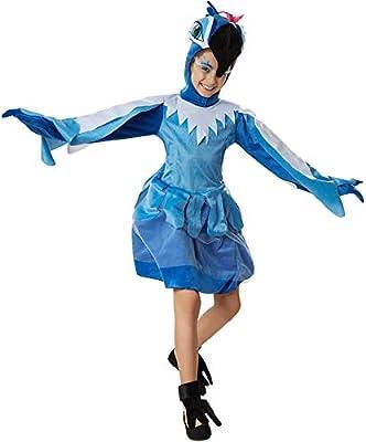 dressforfun 900533 - Disfraz de Chica Papagayo Suntuoso, Disfraz ...