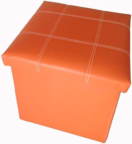 GMMH Taburete Asiento 38/x 38/x 38/cm Box/ /Caja Puf Ba/úl Soporte Banco Plegable