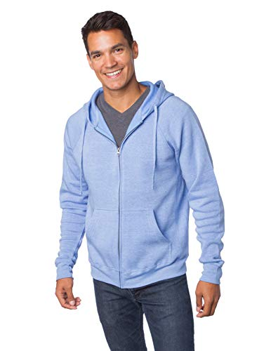 (Global 2XL Fleece Zip Up Hoodie Men Plus Size Sweatshirt Women Outwear Coat)