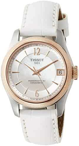 Tissot T-Classic Ballade Automatic Mother of Pearl Dial Ladies Watch T108. 208. 26. 117. 00