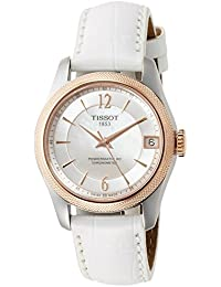T-Classic Ballade Automatic Mother of Pearl Dial Ladies Watch T108. 208. 26. 117. 00