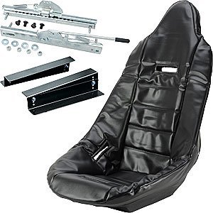 JEGS Performance Products 70200K Pro High Back Race Seat Kit ()