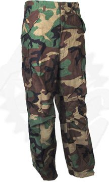 best website where to buy size 7 Woodland Camo Pants, Real Military Issue, BDU (Battle Dress Uniform)