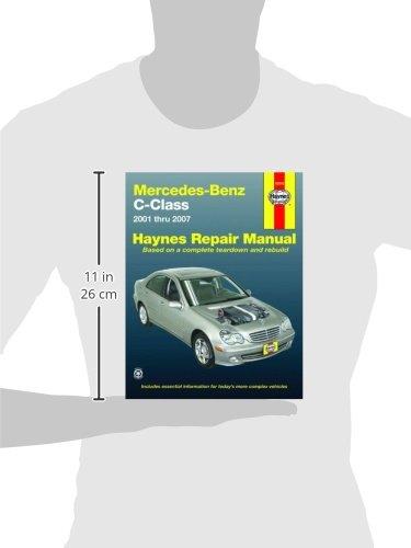 Mercedes benz c class 2001 to 2007 haynes repair manual paperback mercedes benz c class 2001 to 2007 haynes repair manual paperback amazon haynes 9781563927355 books fandeluxe Gallery