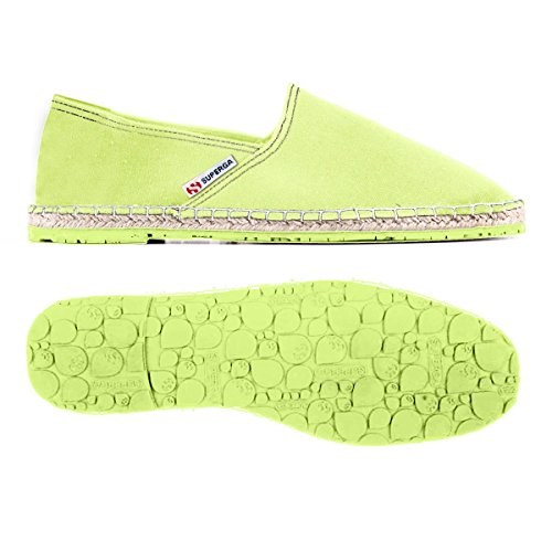 Superga 4524 Cotu - Zapatillas Unisex adulto Sunny Lime