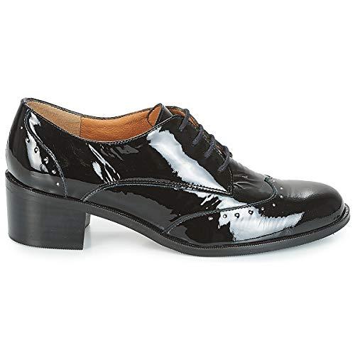 Nero Shoes Laced Brevetto 38 Web Donna Karston 7RqTxAfw