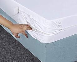 Utopia Bedding Funda de colchón Impermeable con Cremallera ...
