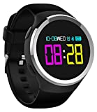 Fitness Tracker Bluetooth Smart Watch Heart Rate Blood Pressure Monitor Activity Pedometer Calorie Sports Bracelet
