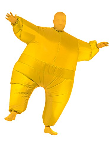 Rubie's Inflatable Full Body Suit Costume, Yellow, One Size ()