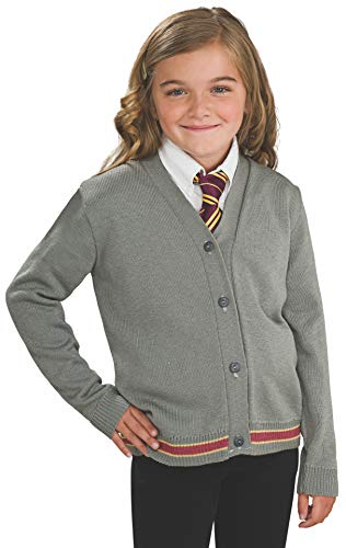 Harry Potter Hermione Granger Hogwarts Cardigan and Tie Costume - Small ()