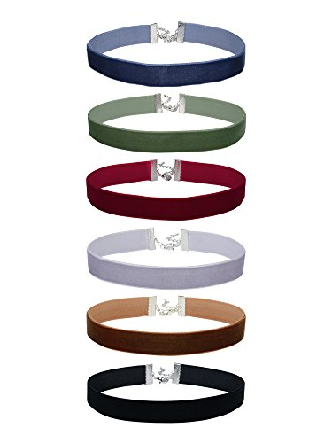 Mudder Velvet Choker Necklaces Classic