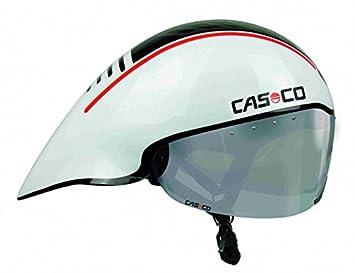 Casco adultos Speed Time Pursuit bicicleta, color blanco/negro, talla única: Amazon.es: Deportes y aire libre