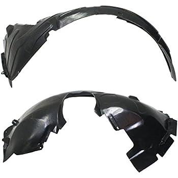Fits 10-13 Insight Front Splash Shield Inner Fender Liner Left /& Right SET PAIR
