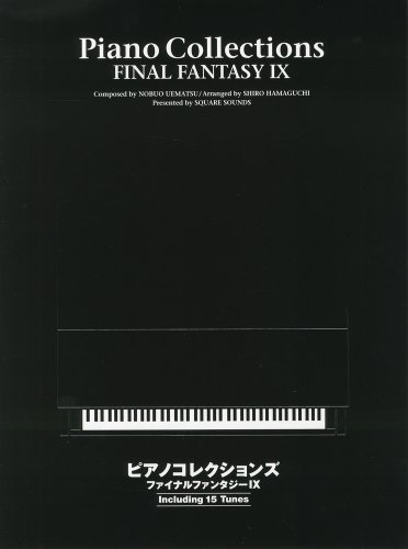 Final Fantasy IX Piano Collection Sheet Music - Finale Music Book