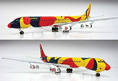 InFlight 200 Braniff Calder DC-8-62 Model Airplane