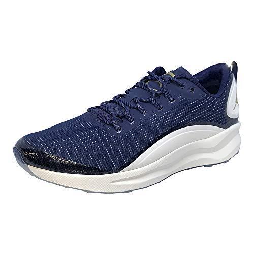 Nike Mens AIR Jordan Zoom Tenacity Shoe (11.5 M US, College Navy/Metallic Gold) (Nike Jordan Air Gold)