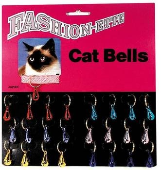 P.S.I. Imports CPS688 Card Bell Colored Teardrop Toy, 24 Per Case