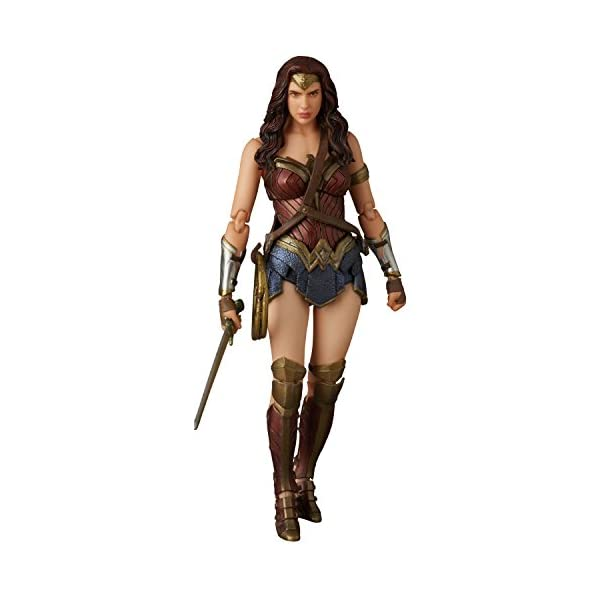 41lCRG3gWPL Medicom Batman v Superman: Dawn of Justice: Wonder Woman MAF EX Action Figure