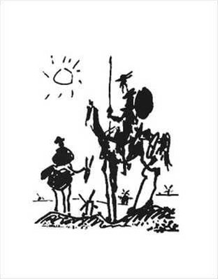 Pablo Picasso Don Quixote Abstract Fine Art Poster for sale  Delivered anywhere in Canada