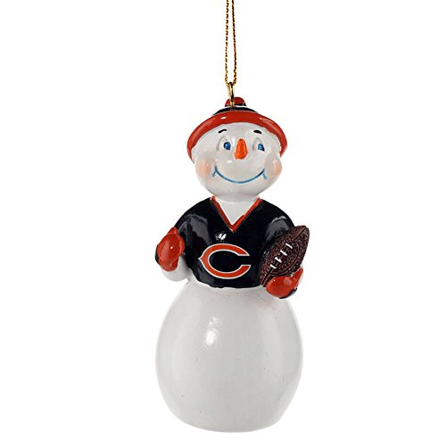 Evergreen NFL/MLB/NCAA Jack Frost Snowman Ornament (Chicago Bears)