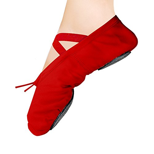 red ballet slippers - 1