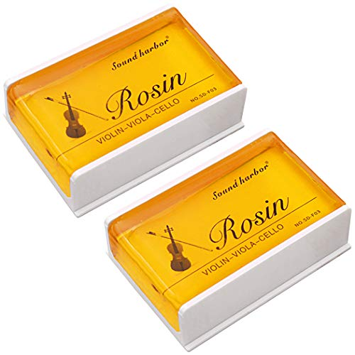 Rosin 2 pack Big size Rosin Natural Rosin for Violin