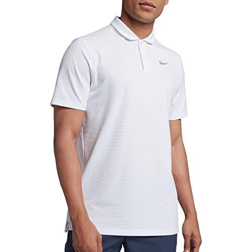 キャベツ利点自発的(ナイキ) Nike メンズ ゴルフ トップス Nike AeroReact Stripe Golf Polo [並行輸入品]