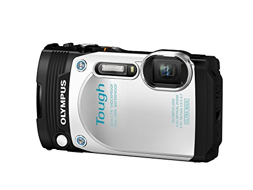 Digital Cameras OLYMPUS TOUGH TG870 WHITE 16MPIXELS