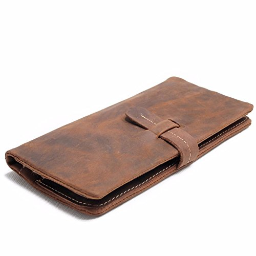 with long leather wallet a dough long A clip soft NHGY gvwxZSOg