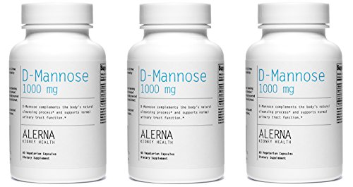D-Mannose (1000mg) (w/ Organic Rose Hips and Cranberry Co...