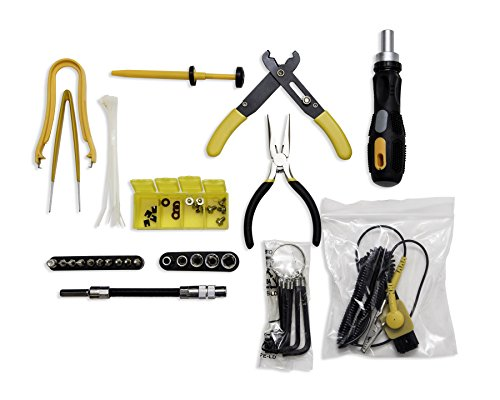 Syba 43 Piece PC Basic Maintenance Tool Kit with Chip Extractor and Wire Stripper (SY-ACC65051) ()