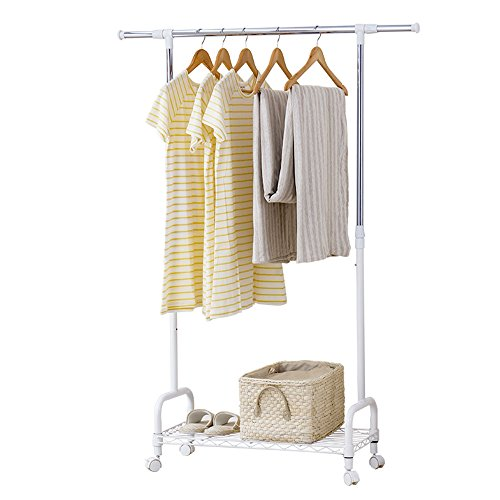 Drying racks / floor-standing indoor bedroom hangers / bottom parts / retractable lift balcony drying racks by Shelf-xin
