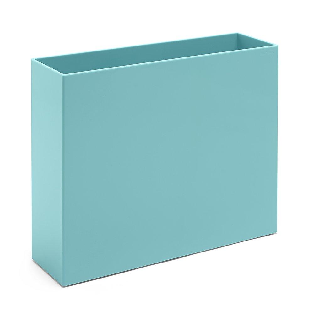 Poppin File Box, Aqua 101274