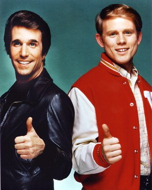 Image result for henry winkler as the fonz