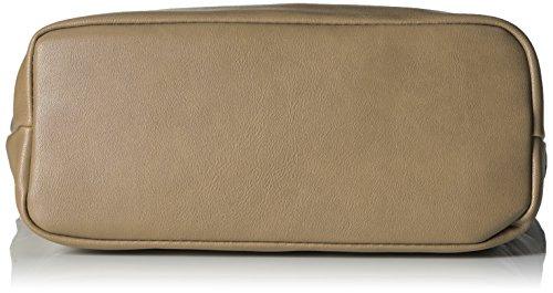 Mujer bandolera Bolsos Handbag Gris Leni Taupe 8qPawOz