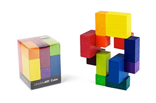 PLAYABLE ART Cube - Rainbow (Compact Packaging)