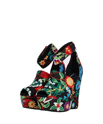 Jeffrey Campbell - Zapatillas para deportes de exterior para mujer multicolor multicolor 37 negro
